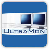 UltraMon software mirror flips your PC screen