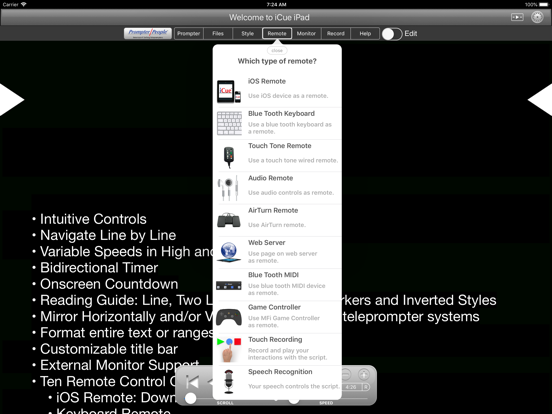 Free iOS Teleprompter Software